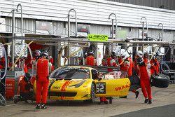 #52 AF Corse Ferrari 458 Italia : Adrien de Leener, Cedric Sbirrazzuoli