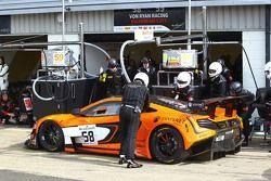 #58 Von Ryan Racing McLaren 650S : Shane van Gisbergen, Robert Bell, Kevin Estre