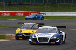 #36 Sainteloc Racing Audi R8 LMS Ultra: Gilles Lallemant, Jean-Paul Buffin, Georges Cabanne