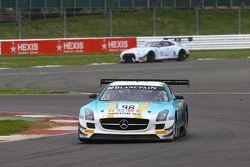 #98 Team Astana by Rowe Racing Mercedes SLS AMG GT3: Nicolai Sylvest, Indy Dontje, Daniel Juncadella