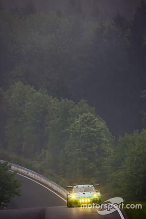 #44 Team Falken Tire Porsche 997 GT3 R: Peter Dumbreck, Wolf Henzler, Martin Ragginger, Alexandre Im