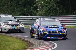 #114 Subaru Tecnica International Subaru WRX STI: Carlo van Dam, Kota Sasaki, Tim Schrick, Marcel La