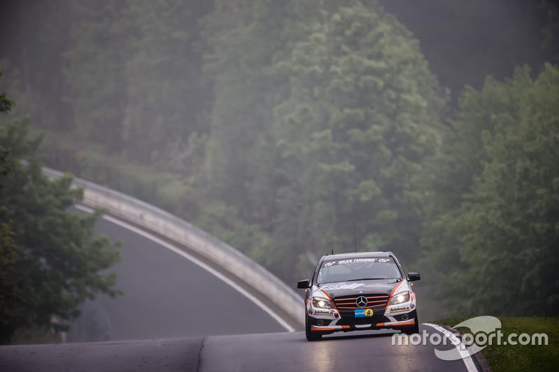 #185 Team AutoArenA Motorsport, Mercedes-Benz C23: Patrick Assenheimer, Marc Marbach, Steffen Fürsch