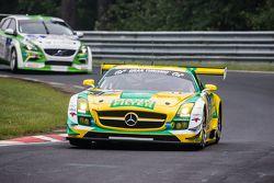 #31 Car Collection Motorsport Mercedes-Benz SLS AMG GT3: Peter Schmidt, Alexander Mattschull, Pierre