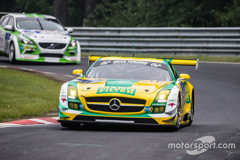 #31 Car Collection Motorsport, Mercedes-Benz SLS AMG GT3: Peter Schmidt, Alexander Mattschull, Pierr