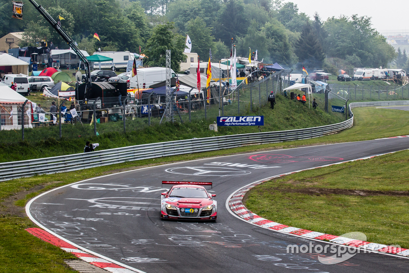 #14 Audi Race Experience Audi R8 LMS ultra : Niki Mayr-Melnhof, Rod Salmon, Micke Ohlsson, Ronnie Saurenmann