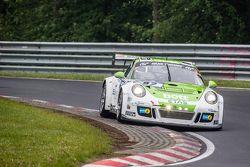 #92 Team Manthey Porsche 911 GT3 Cup MR: Christoph Breuer, Andreas Cairoli, Sven Müller, Michael Chr