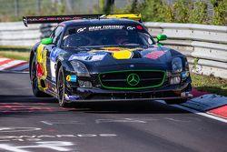 #8 Haribo Racing Mercedes-Benz SLS AMG GT3: Uwe Alzen, Marco Holzer, Norbert Siedler, Maximilian Göt