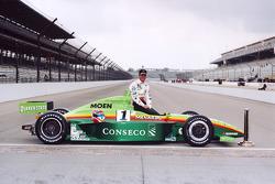 Ganador de la pole Greg Ray, Team Menard