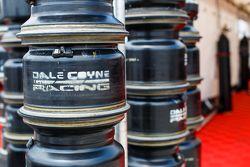 Les jantes du Dale Coyne Racing