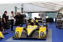 JDC/Miller Motorsports team area