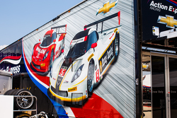 Área de equipo Action Express Racing