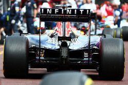Red Bull RB11 monkey seat detail