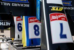 Charles Leclerc'in yedek ön kanatları, Van Amersfoort Racing, Dallara F312 Volkswagen