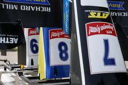 Alerones delanteros Piezas de Charles Leclerc, Van Amersfoort Racing, Dallara F312 Volkswagen