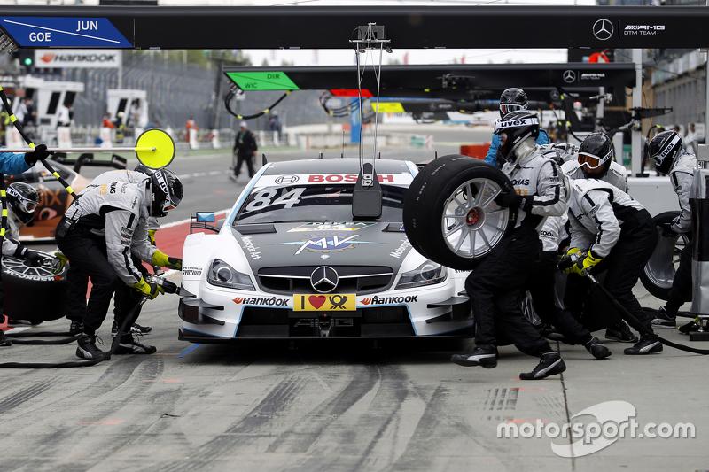 Pitstop, Maximilian Götz, Mücke Motorsport Mercedes-AMG C63 DTM