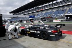 Parada en pits, Bruno Spengler, BMW Team MTEK BMW M4 DTM