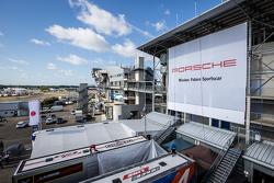 Une publicité Porsche