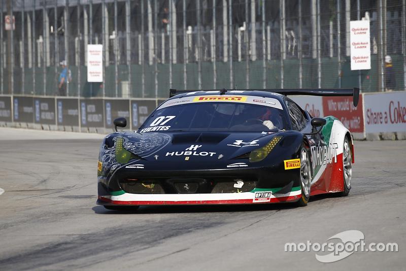 #07 Scuderia Corsa, Ferrari 458 GT3 Italia: Martin Fuentes