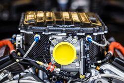 Le moteur de la #34 OAK Racing Ligier JS P2 Honda