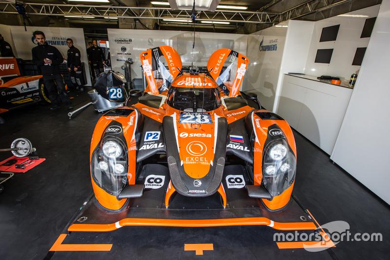 #28 G-Drive Racing, Ligier JS P2