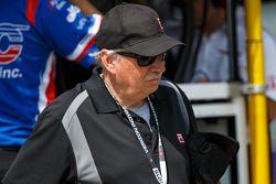 Racing journalist Robin Miller