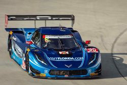 #90 VisitFlorida.com Racing Corvette DP : Richard Westbrook, Michael Valiante