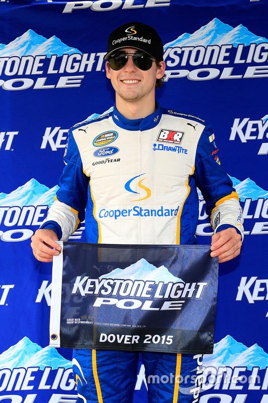 Pole Ryan Blaney, Brad Keselowski Racing Ford