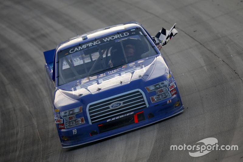 Vencedor Tyler Reddick, Brad Keselowski Racing Ford