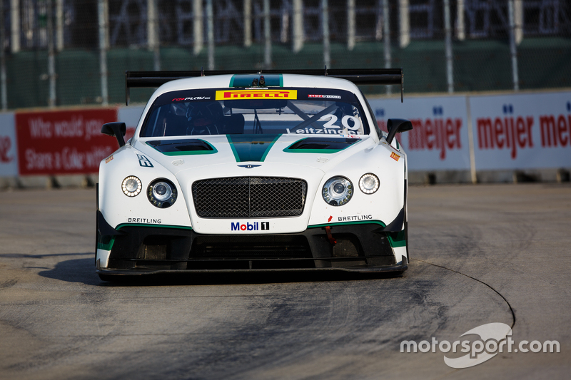 #20 Bentley Team Dyson Racing, Bentley Continental GT3: Butch Leitzinger