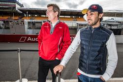 Audi Sport Team Joest managing Director Ralf Jüttner dan Abdulaziz Al Faisal
