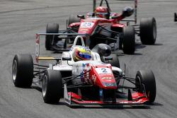 Jake Dennis, Prema Powerteam Dallara Mercedes-Benz y Lance Stroll, Prema Powerteam Dallara Mercedes-
