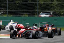 Felix Rosenqvist, Prema Powerteam Dallara Mercedes-Benz y Mikkel Jensen, Mücke Motorsport Dallara Me