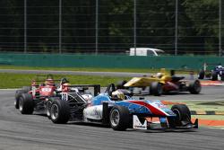Raoul Hyman, Team West-Tec F3 Dallara Mercedes-Benz y Lance Stroll, Prema Powerteam Dallara Mercedes