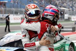Edoardo Mortara, Audi Sport Team Abt Audi RS 5 DTM y Miguel Molina, Audi Sport Team Abt Audi RS 5 DT