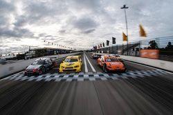 Start line in Curitiba race trac