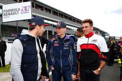 Max Verstappen con Pierre Gasly