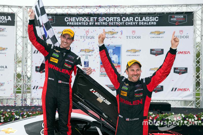 1. #31 Action Express Racing, Corvette DP: Eric Curran, Dane Cameron