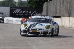#22 Alex Job Racing Porsche 911 GT America : Cooper MacNeil, Leh Keen