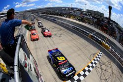 Start: Darrell Wallace Jr., Roush Fenway Racing Ford, lider