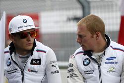 Marco Wittmann, BMW Team RMG BMW M4 DTM y Maxime Martin, BMW Team RMG BMW M4 DTM