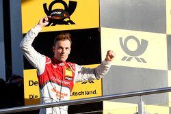 Podium: Winnaar Jamie Green, Audi Sport Team Rosberg Audi RS 5 DTM