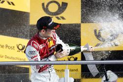 Podio: Jamie Green, Audi Sport Team Rosberg Audi RS 5 DTM