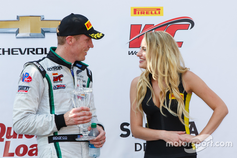 Podium: Third place #16 Bentley Team Dyson Racing Bentley Continental GT3: Chris Dyson