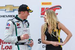 Podium: Third place #16 Bentley Team Dyson Racing Bentley Continental GT3: Chris Dyson