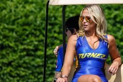 Grid Girls del team Turner Motorsports