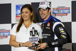 Podium: Third place Simon Pagenaud, Team Penske Chevrolet