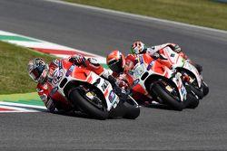 Andrea Dovizioso y Michele Pirro, Ducati Team y Danilo Petrucci, Pramac Racing Ducati