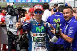 El segundo puesto clasificadoJorge Lorenzo, de Yamaha Factory Racing