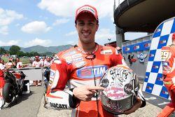 El tercer lugar clasificado Andrea Dovizioso, Ducati